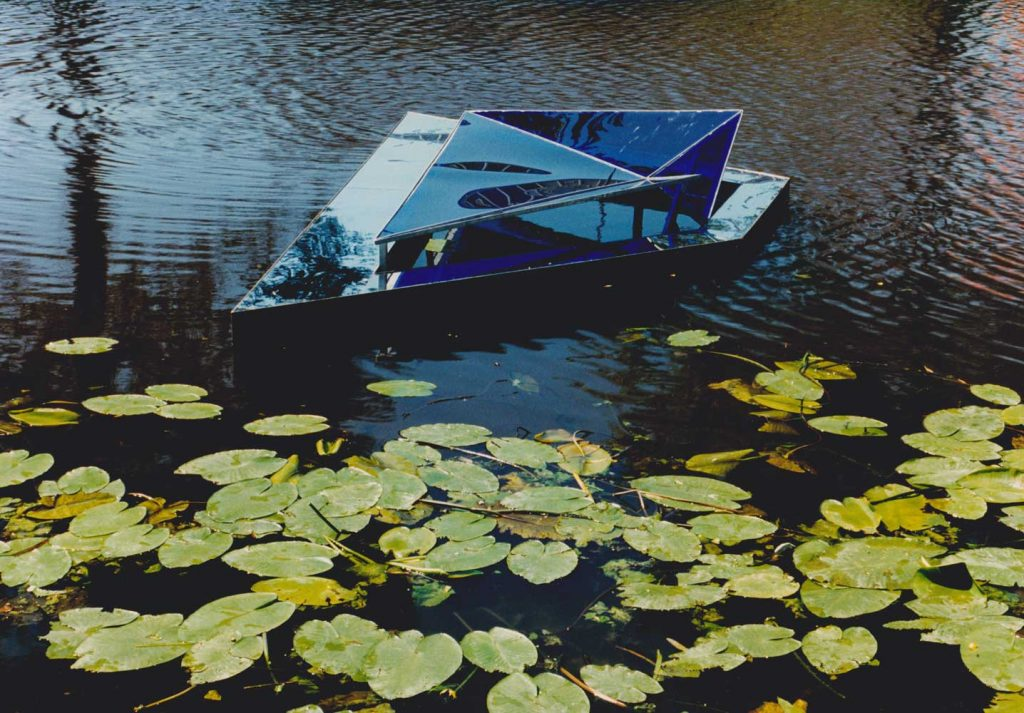 Floating Island, 1991, project Singel,Leiden